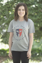 Unisex Light Gray Heritage Tee